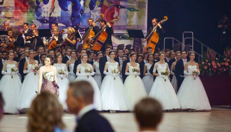 Состоялся Шестнадцатый благотворительный Венский бал в Москве.