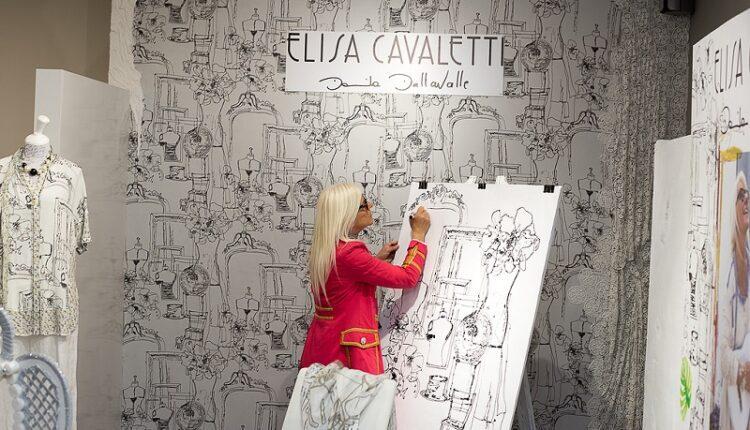 27 февраля в московском Бутике Elisa Cavaletti прошла встреча с дизайнером Даниэлой Даллавалле.