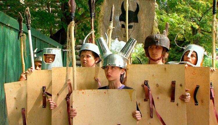Новый полнометражный игровой  фильм для детей  «Бегство рогатых викингов»  выходит в российский прокат 13 июня