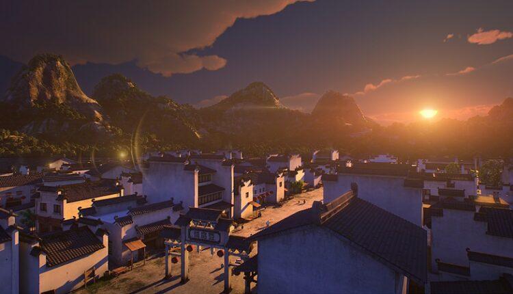 Новый анимационный фильм  о боевом искусстве  «Кунг-фу воин»