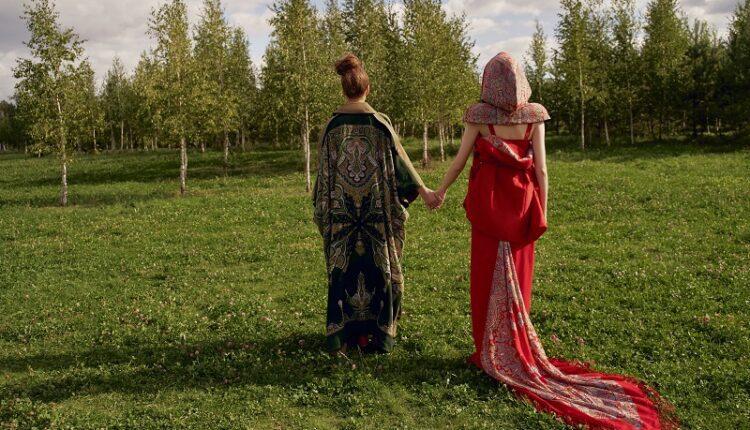 Российский бренд KHAN представляет коллекцию осень-зима 19/20, вдохновленную русским традиционным искусством и современным дизайном