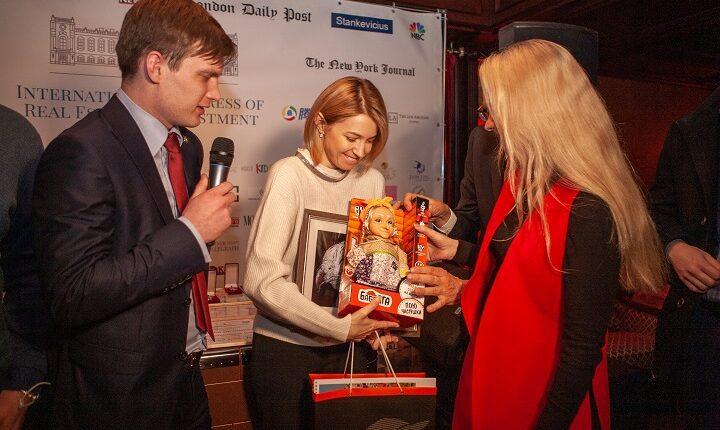 BABA YAGA вручила подарки международных послам и деятелям культуры