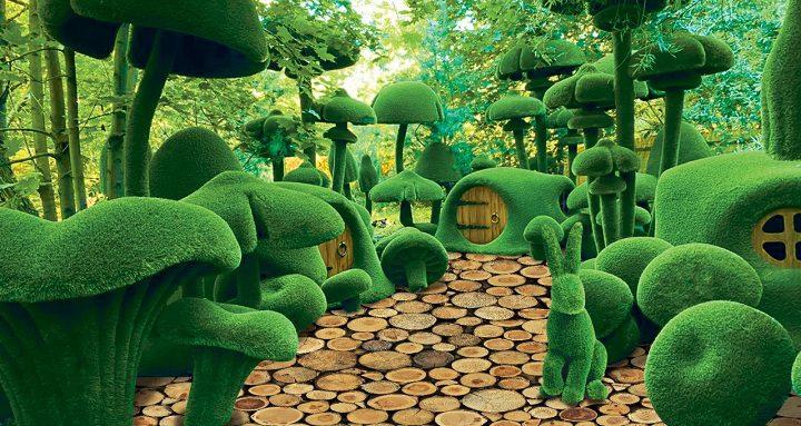 2 августа открывается фантастический парк AIVA, единственный парк в стиле топиари