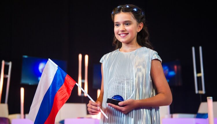 София Феськова из Санкт-Петербурга заняла второе место на «Детской Новой волне»
