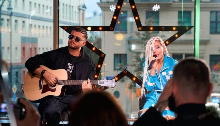 Kazna «зажгла» на сцене  в центре Москвы!