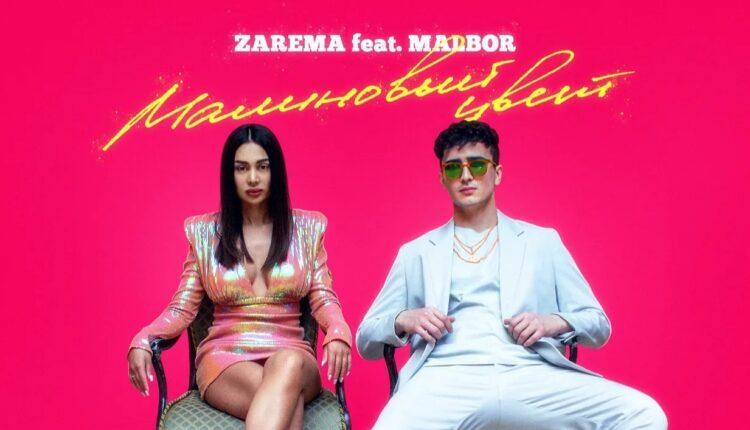 Певица ZAREMA представила новый трек «Малиновый цвет» (feat MALBOR)